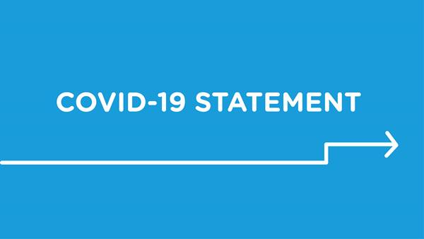 COVID-19 Statement banner