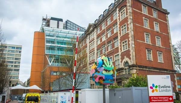 The Evelina London Children's Hospital Building, Photo credit: William Barton