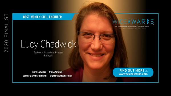 Lucy Chadwick, one of this year's finalists and Ramboll's Gender Network Lead.