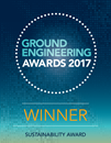 Ground Engineering Awards 2017 - Winner logo