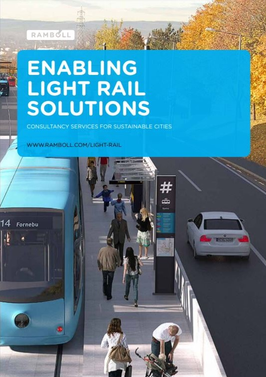Capability statement: Enabling light rail solutions. Ramboll