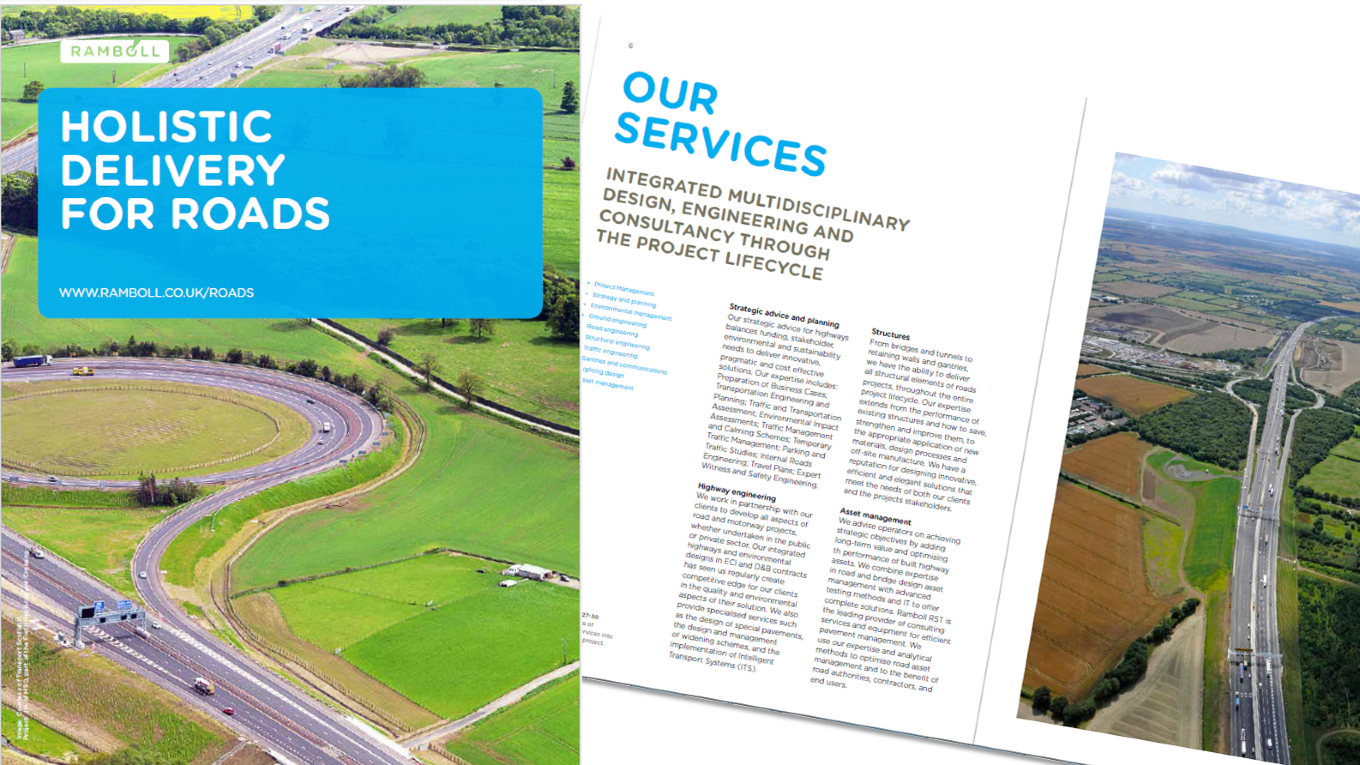 Holistic delivery for roads - Ramboll UK Limited