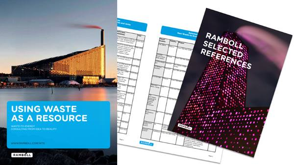 Selected references: New Waste-to-Energy facilities and units. Ramboll