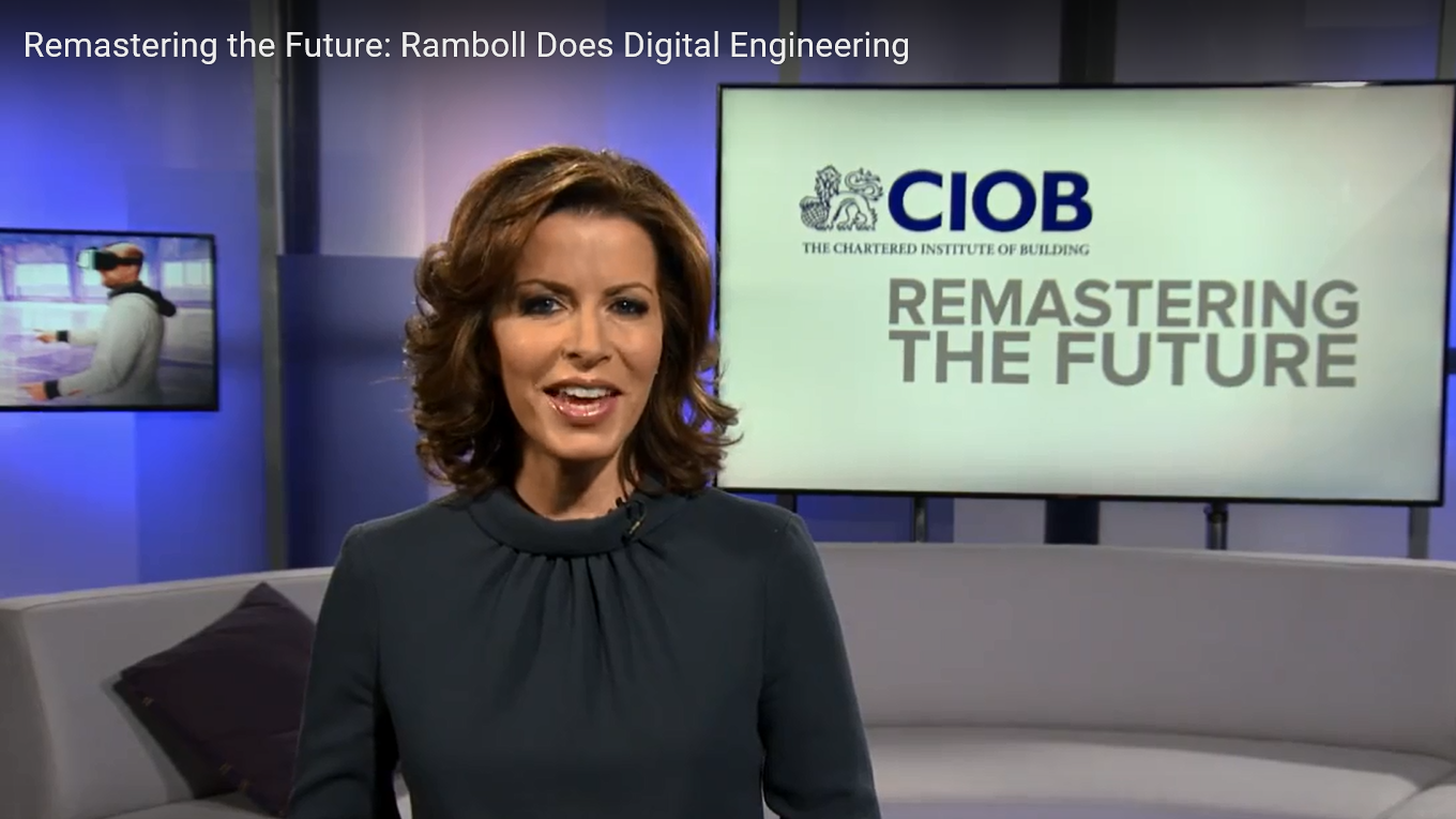 News and current affairs-style TV programme @Remastering the Future