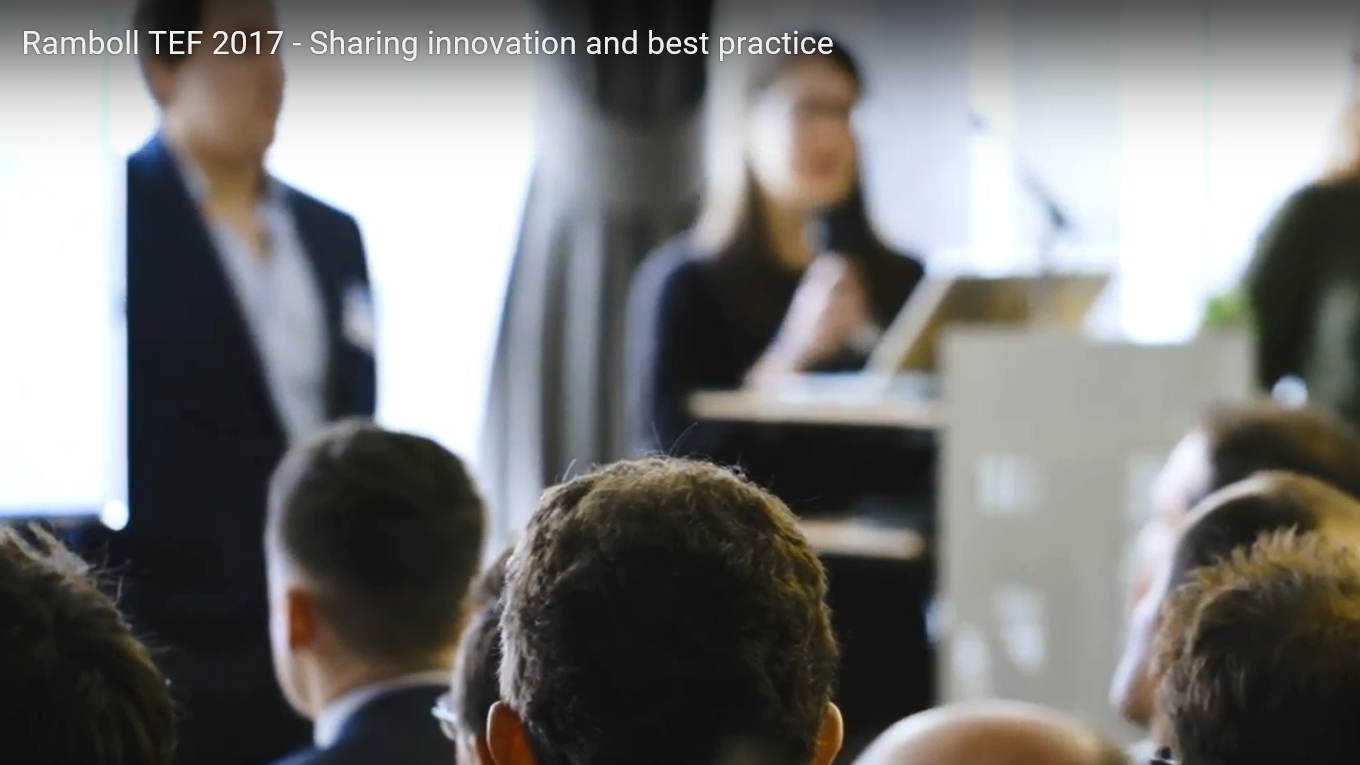 Ramboll's Technical Excellence Forum - sharing innovation and best practice
