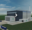 Start button for visualisation film of waste-to-energy facility
