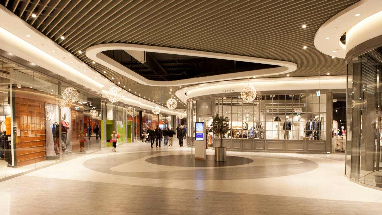 Ramboll lights up copenhagen designer outlet ramboll uk for Design outlet
