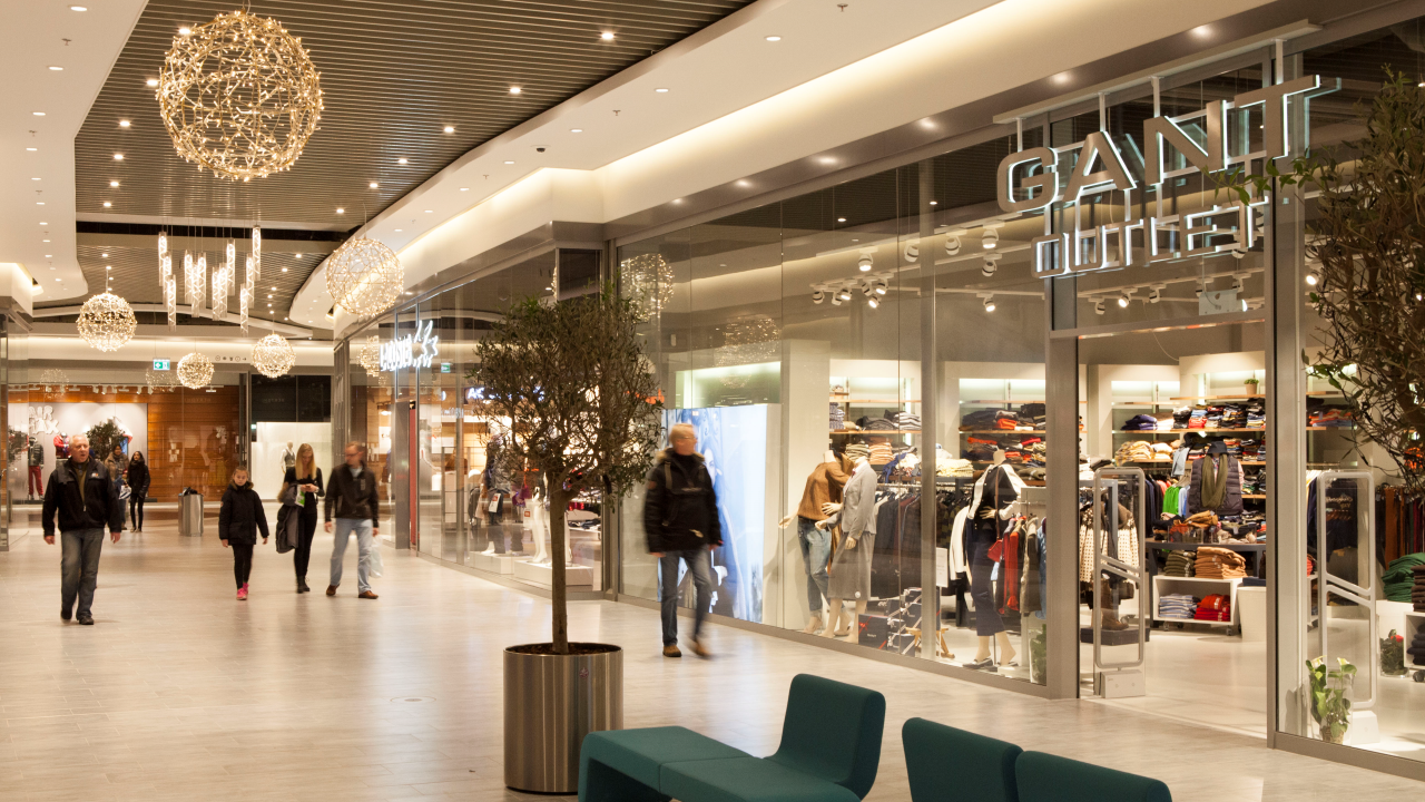 Ramboll lights up copenhagen designer outlet ramboll uk for Outlet design