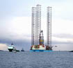 The jack-up drill rig Mærsk Inspirer